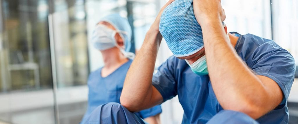 Healthcare Workers Suffer from PTSD and Burnout During COVID-19